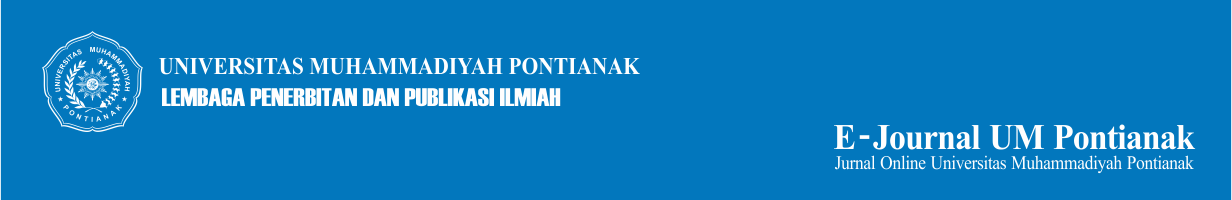 open jurnal Universitas Muhammadiyah Pontianak